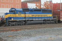 Iowa Chicago & Eastern Locomotive Stock Photos