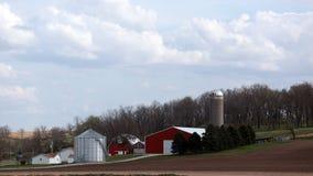 Iowa farm Stock Photo