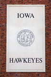 Iowa Hawkeyes Emblem and Seal Royalty Free Stock Photos