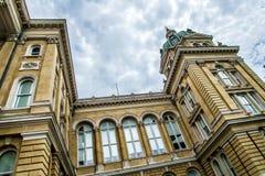Iowa huvudstadbyggnad Royaltyfri Bild