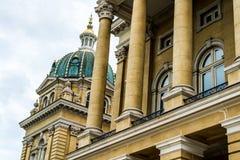Iowa huvudstadbyggnad Arkivbild