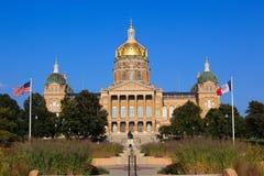 Iowa-Kapitol Stockfoto
