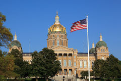 Iowa-Kapitol Stockbild