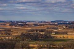 Iowa-Landschaft Lizenzfreies Stockfoto