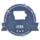 Iowa mark. Stock Photography