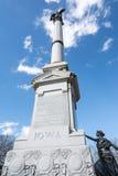 Iowa monument Royaltyfria Bilder