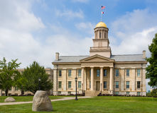 Iowa Old Capitol Building Royalty Free Stock Image