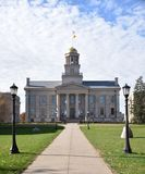Iowa Old Capitol Building Stock Photo