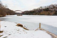 Iowa River Stock Image