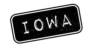 Iowa rubber stamp Royalty Free Stock Images