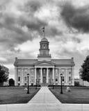 Iowa Stary Capitol zdjęcie royalty free