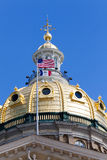 Iowa State Capitol Building, Des Moines Stock Photography