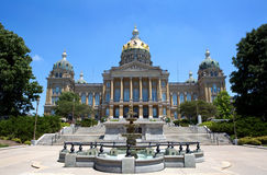 Iowa State Capitol Building Royalty Free Stock Images