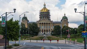 Iowa State Capitol Building royalty free stock image