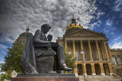 Iowa State Capitol Stock Image