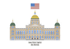 Iowa State Capitol, Des Moines Royalty Free Stock Image