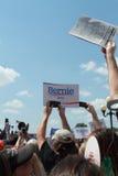 Iowa State Fair: Crowd welcomes Bernie Sanders Royalty Free Stock Photos