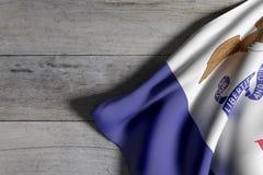Iowa State flag Royalty Free Stock Photo
