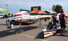 Iowa State University�s solar car Royalty Free Stock Photo