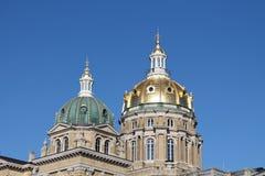 Iowa statKapitolium-Des Moines, Iowa Royaltyfri Fotografi