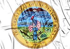 Iowa statskyddsremsa, USA illustration 3d Royaltyfri Fotografi