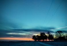 Free Iowa Winter Sunset 3 Royalty Free Stock Photography - 161446217