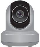 IP安全监控相机 皇族释放例证
