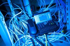 IP电话 库存图片