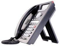 Τηλέφωνο γραφείων IP που απομονώνεται Στοκ εικόνες με δικαίωμα ελεύθερης χρήσης