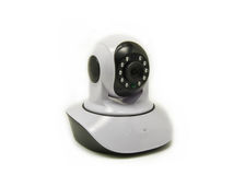Ip camera. IP Wireless web camera with infrared LED royalty free stock photo