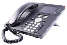 ip odizolowywający biura telefonu biel Fotografia Royalty Free