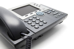 IP Phone Close-up view from the side Royalty Free Stock Photography