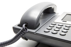 IP Phone, keypad close-up Royalty Free Stock Images