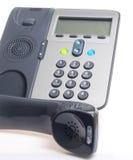 IP Phoneon witte achtergrond Stock Foto
