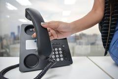 IP telefon Obrazy Royalty Free