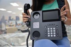IP telefon Obraz Royalty Free