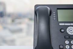 Ip-telefon Fotografering för Bildbyråer