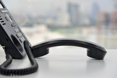 IP-Telefon - Büro-Telefon Lizenzfreie Stockfotografie