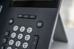 IP-Telefon - Büro-Telefon Lizenzfreies Stockbild