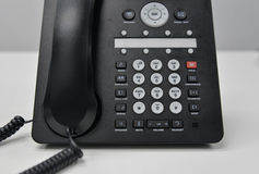 IP telefon - Biurowy telefon Zdjęcie Royalty Free