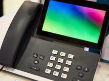 Ip-telefon för kontor Arkivfoton