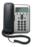 IP-Telefon getrennt auf Weiß Lizenzfreies Stockbild