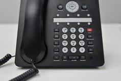 Ip-telefon - kontorstelefon Royaltyfri Foto