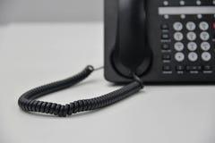 Ip-telefon - kontorstelefon Fotografering för Bildbyråer