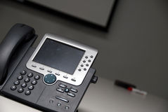 IP Telefoon - BedrijfsReeks Stock Afbeeldingen
