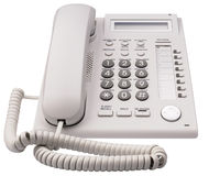 IP telephone front view Stock Image