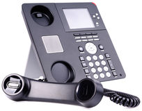 IP telephone set Royalty Free Stock Image