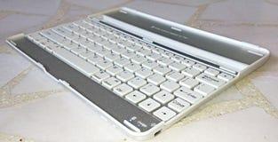 ipad的可拆的键盘 免版税库存照片