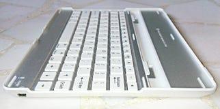 ipad的蓝牙键盘 免版税库存图片