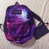 Ipad и рюкзак Стоковая Фотография